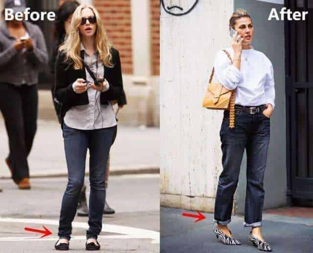 """牛仔裤的错误穿搭, 会让你看上去很""""低级"""""""
