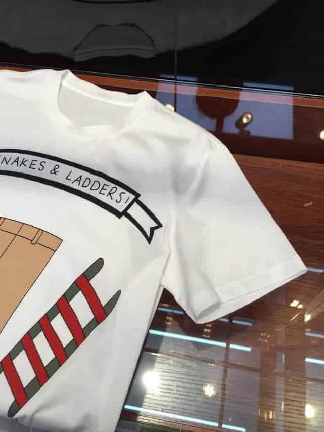 GUCCI古驰 2018 专柜在售 3D全景数码直喷蛇图案短袖T恤