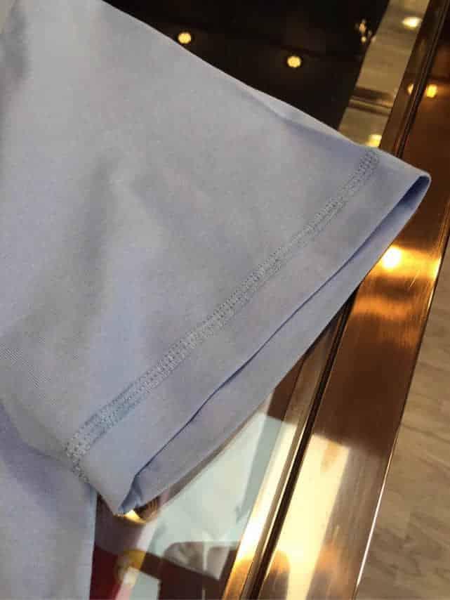 Supreme联名合作款 2018春夏定制原版顶级精梳棉短袖T恤