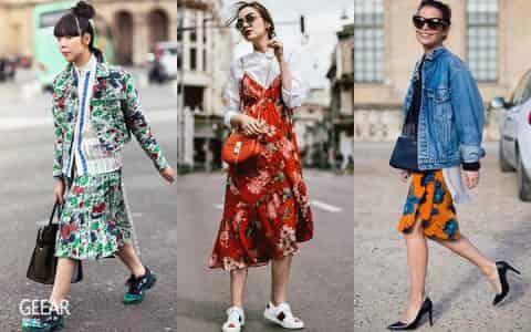 谁说花卉图案只可穿出甜美风?这个春夏碎花最时尚的穿法是这样!