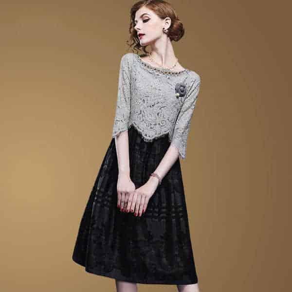 卓图气质连衣裙经典时尚,百搭又显瘦,这个季节聪明女人人手一件