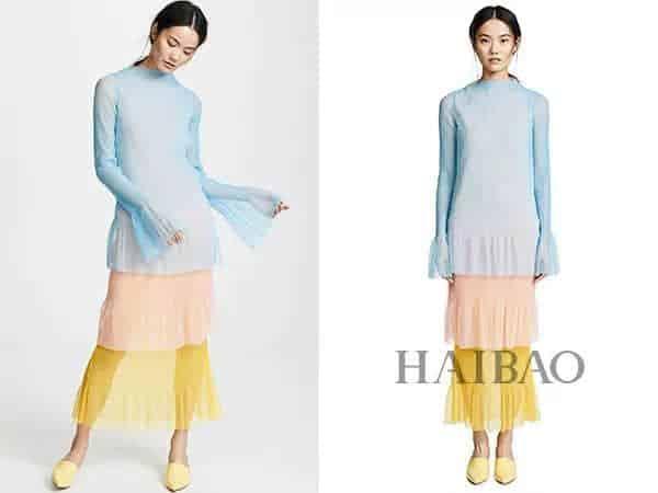 西装+纱裙,衬衣+纱裙...又美又仙的流行穿法实在太好看!