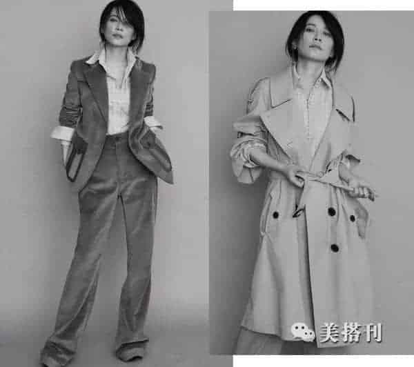 百变设计师俞飞鸿,兼具质感和设计感的衣服是她衣橱的主打