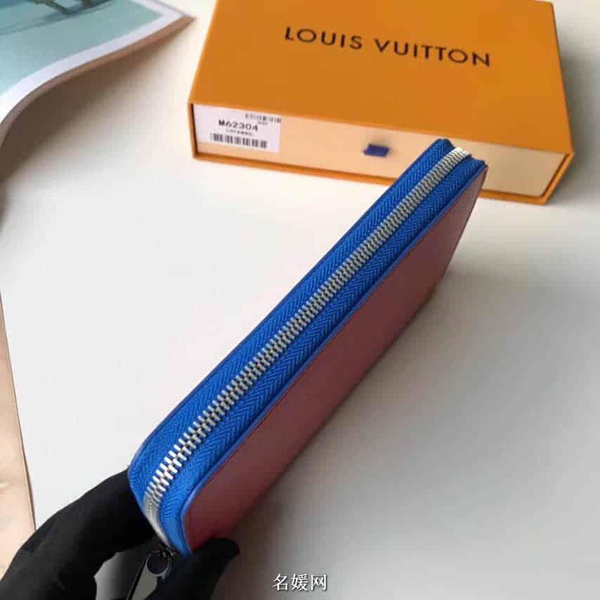LV/路易威登 配色水波纹Zippy拉链钱夹M62304 M62315 M67266 M67267