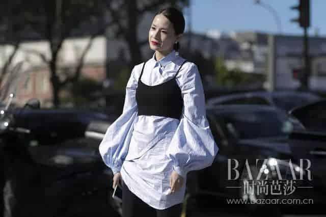 """这个春天最有空气感的不是刘海,是时髦到飞起的""""气球袖""""!"""