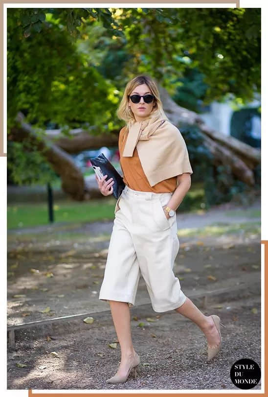 单穿毛衣太热?时髦的你应该知道这种穿法!
