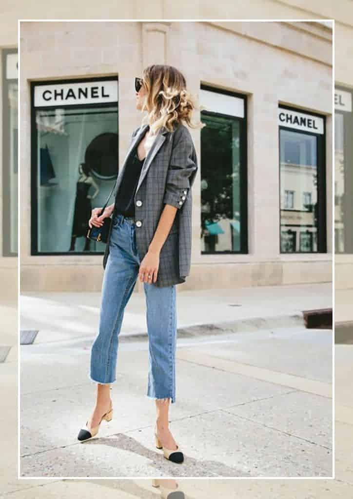 西服配牛仔裤,谁穿谁时髦