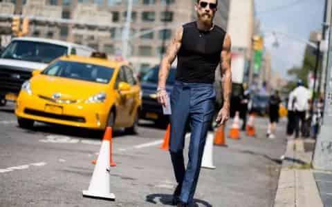 裤子上这条线,是中产阶级男人的自我修养