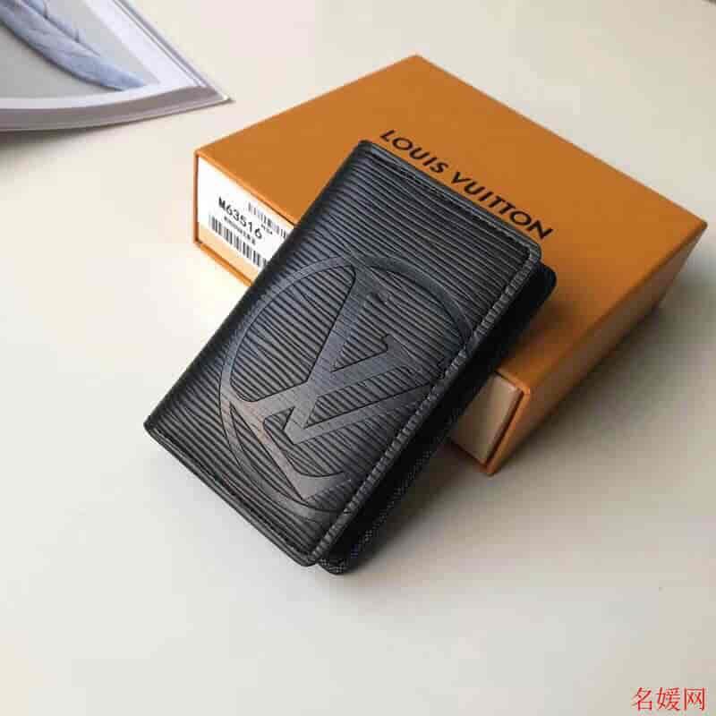 LV/路易威登 圆形标志 口袋钱夹/袋装万用钱包 M63516