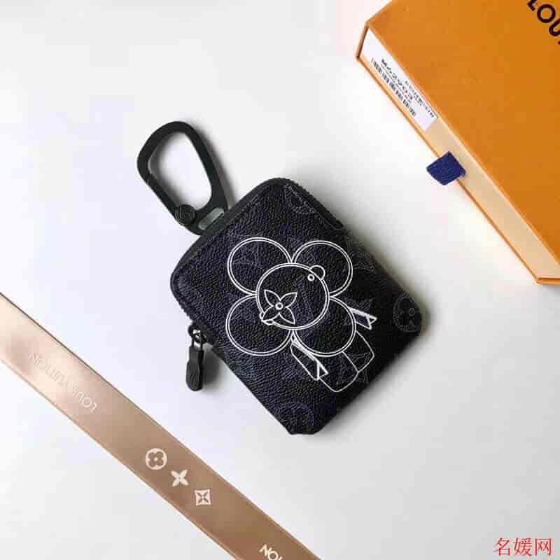 LV/路易威登 18新款  Vivienne 太阳花 零钱包挂件包钥匙包 M62895