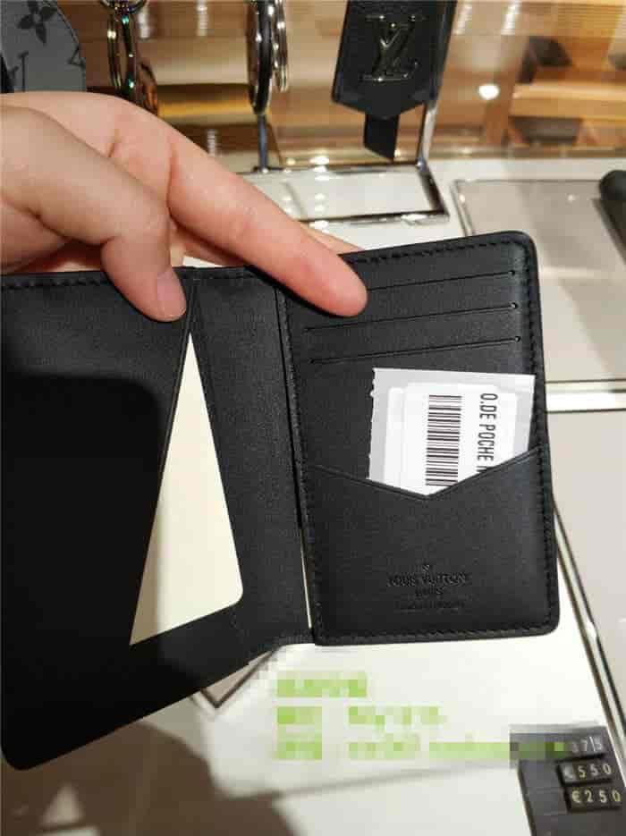 LV/路易威登 18新款 口袋钱夹 N63508 丛林主题棕榈树