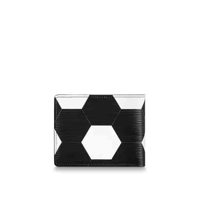 LV/路易威登 18ss新款 世界杯足球图案Slender钱夹 M63228 M63293