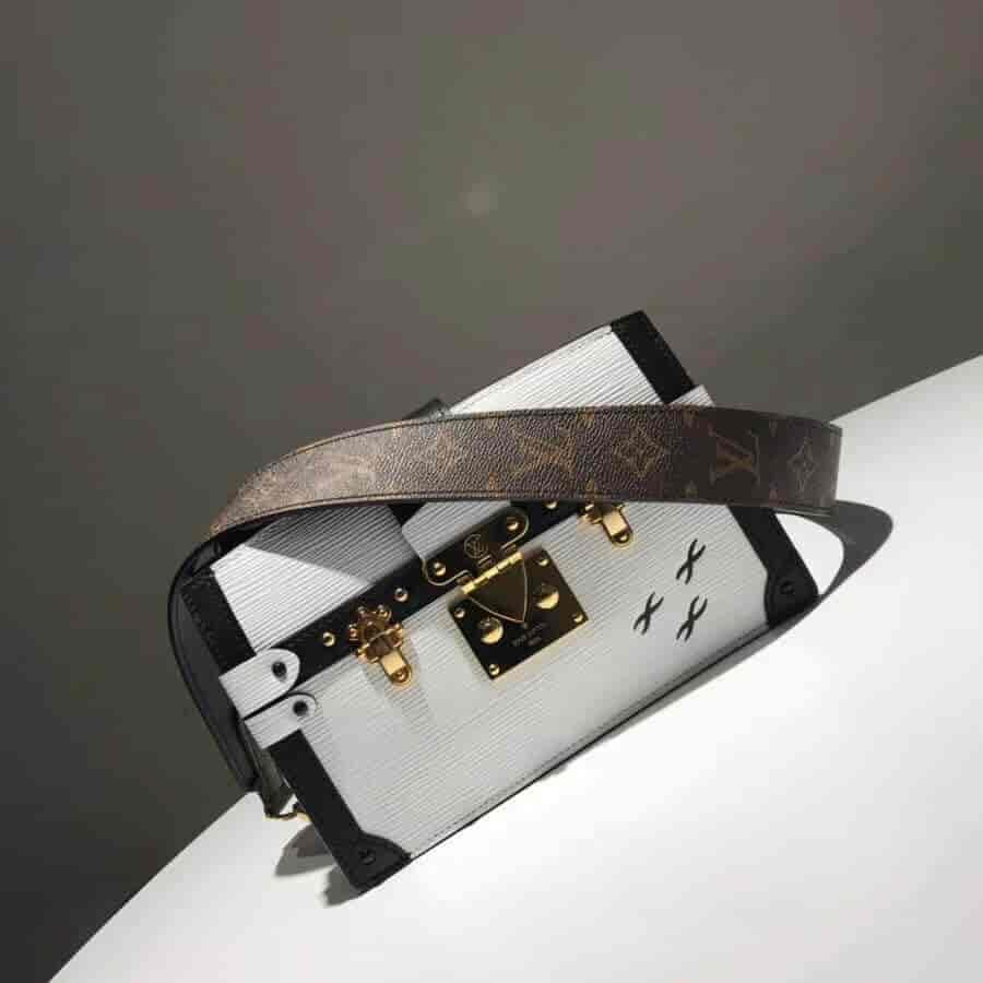 LV/路易威登 18新款 Trunk Clutch手袋/手拿盒子包 M52151