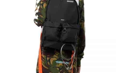 Off-White 18新款 橙色肩带书包背包双肩包 5516