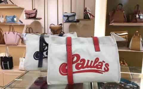 LOEWE/罗意威 18新款Tote Paula Large Bag帆布购物袋