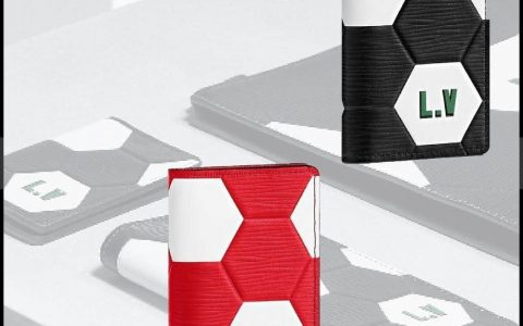 LV/路易威登 18ss新款 世界杯足球图案口袋钱夹 M63226 M63296