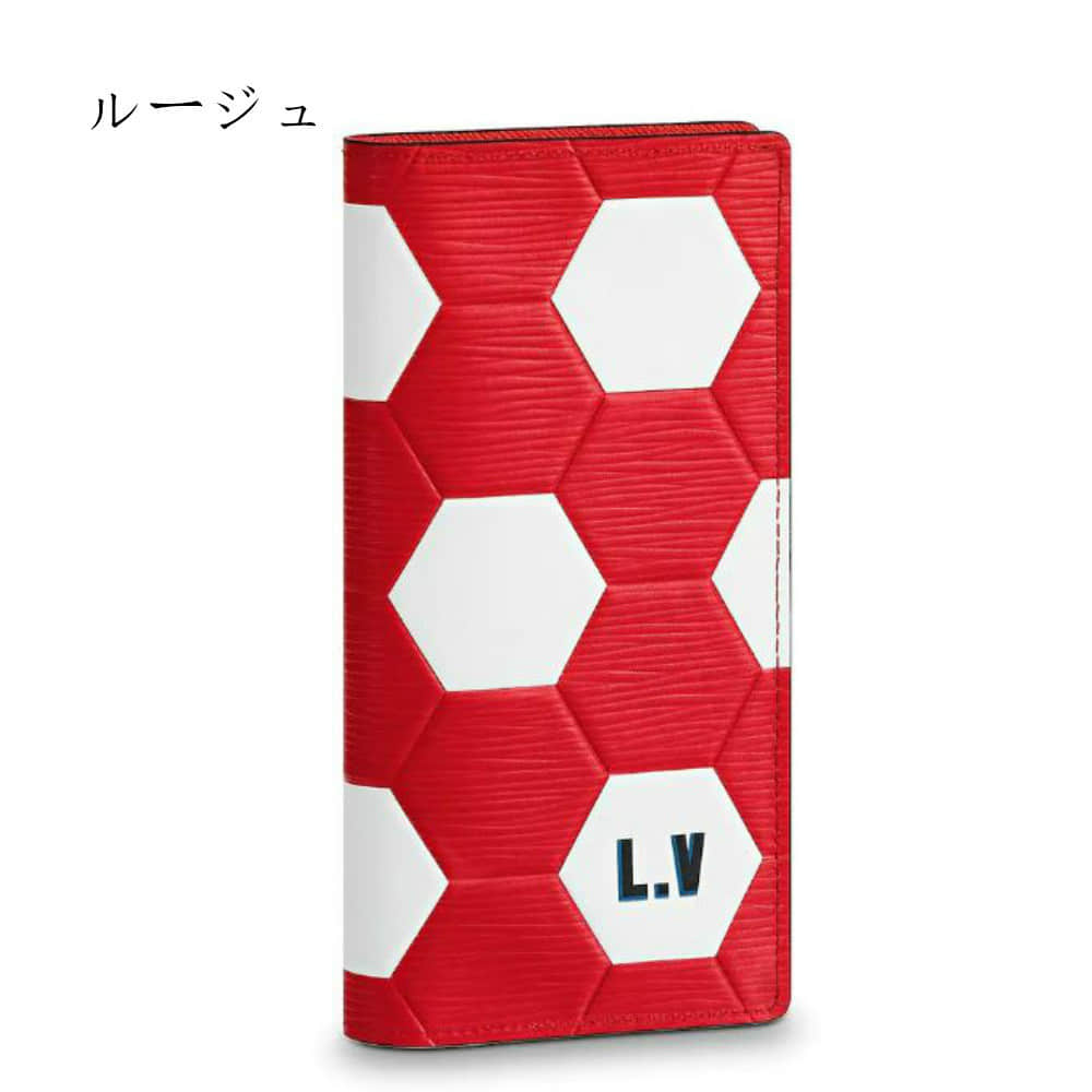 LV/路易威登 18ss新款 世界杯足球图案Brazza钱夹 M63230 M63294
