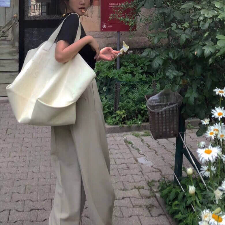 Celine/赛琳 18年新款 logo字饰 沙滩包购物袋造型包