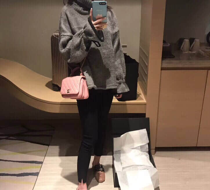 Chanel/香奈儿 2018年新款三层风琴包