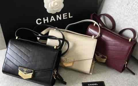 Chanel/香奈儿 2018年新款复古盒子包口盖包 A57490