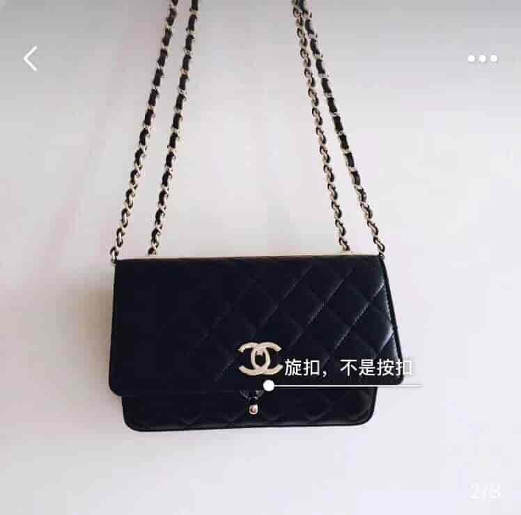 Chanel/香奈儿 2018年新款woc链条斜挎包 四色