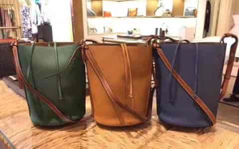 LOEWE/罗意威 2018年新款Gate Bucket Bag水桶包