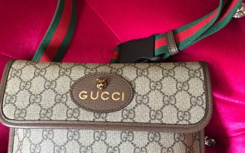 古奇/Gucci GG Supreme belt bag 虎头腰包 493930
