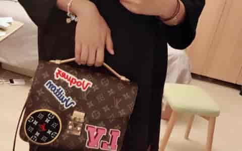 Chanel香奈儿CF25cm 菱格链条包单肩斜挎包 女包 中号《太空金》