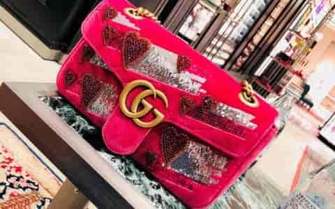 Gucci七夕限定款包包