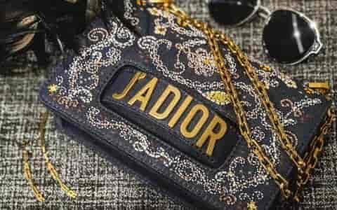 迪奥Dior 18新款 J'ADIOR 牛仔风珠绣 度假系列