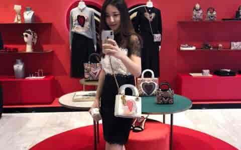 #迪奥 迪奥七夕限定款Lady Dior包包七夕买买买