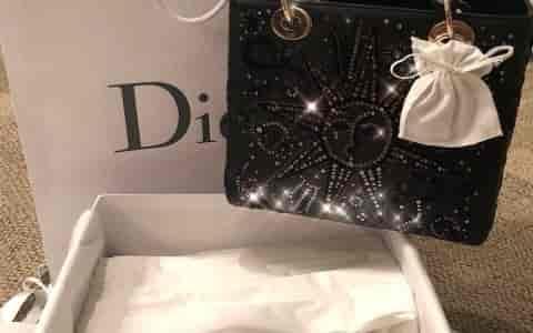 Lady Dior 2018早秋星座钉珠限量