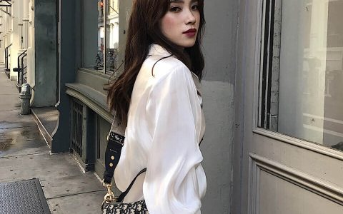 日常穿搭 新宠Dior马鞍包搭配经典老花宽肩带
