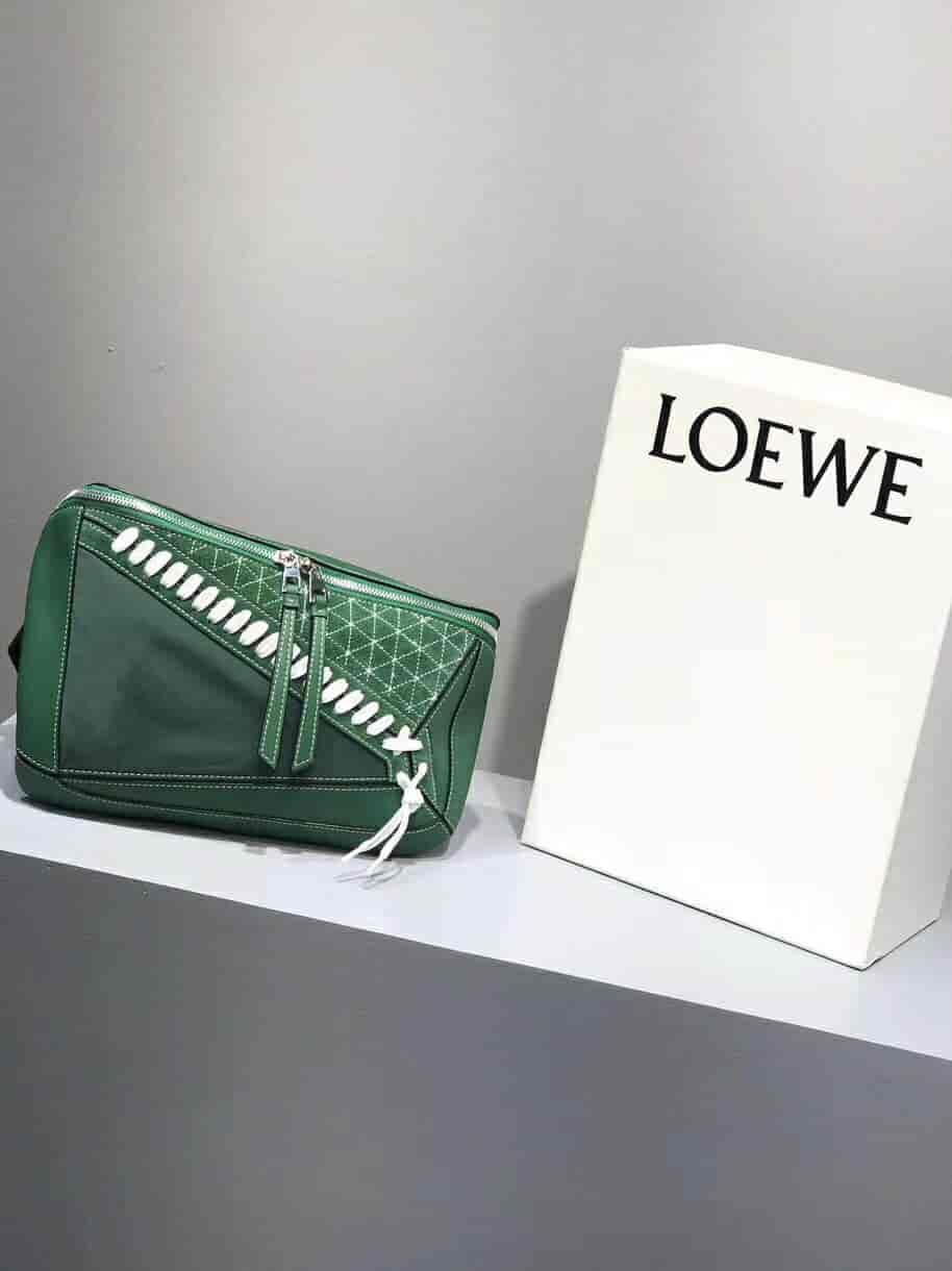 Loewe Puzzle Sling Bag2018ss最新腰包/胸包男女通用
