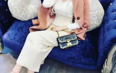 迪奥Dior ADDICT 刺绣图案链条包