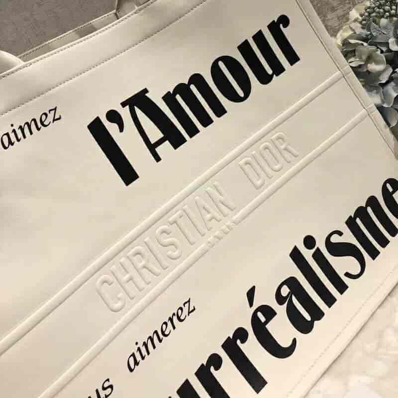 迪奥18早秋系列 Christian Dior Book Tote