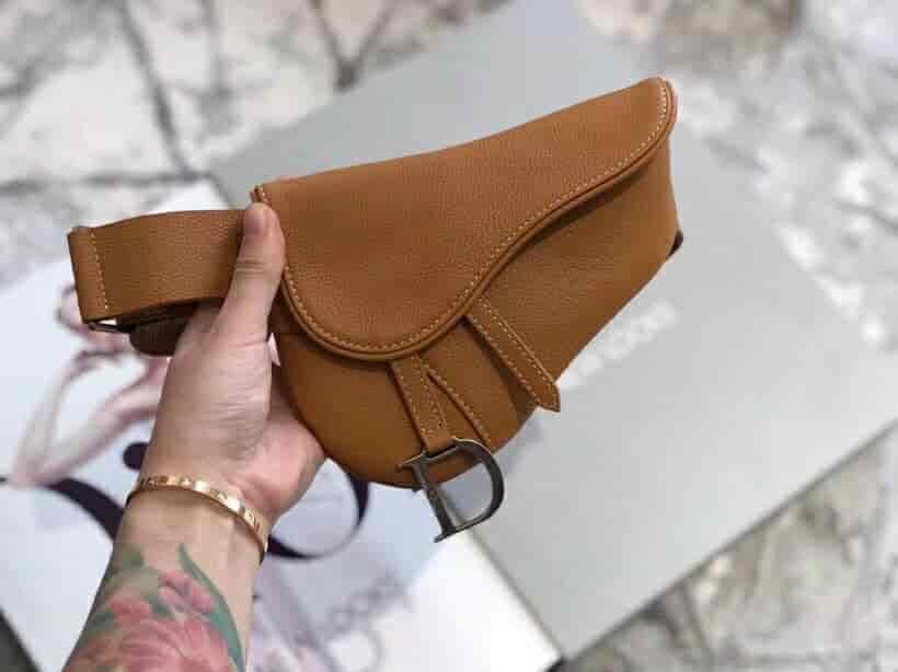 Dior/迪奥 Vintage Saddle # Waist Bag 马鞍小腰包