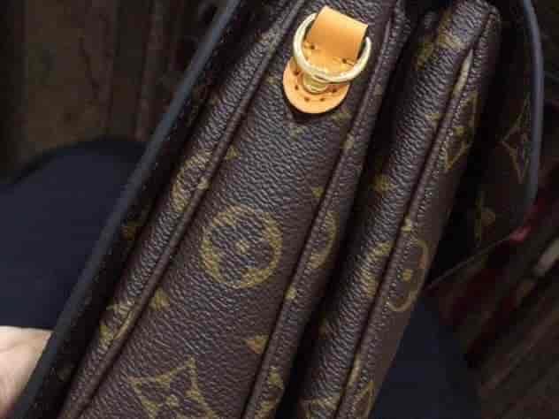 LV/路易威登 最新款编织手柄邮差包