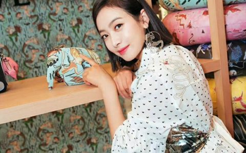 LOEWE罗意威 宋茜同款美人鱼小象包