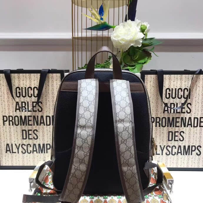 Gucci/古驰Ophidia GG medium backpack双肩包547967