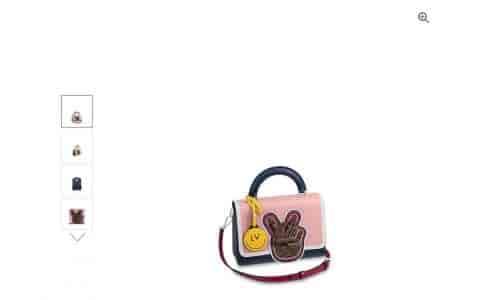 LV/路易威登 18新款TWIST中号拼色手袋翻盖手提包女包 M52514