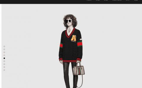 Gucci/古驰 Ophidia系列小号GG购物袋 547551