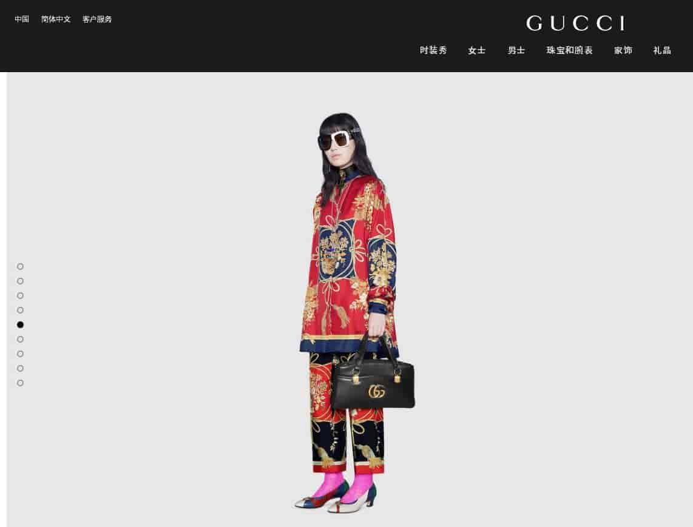 GUCCI/古奇2019新款皮革双G金色Arli系列大号手提包 550130