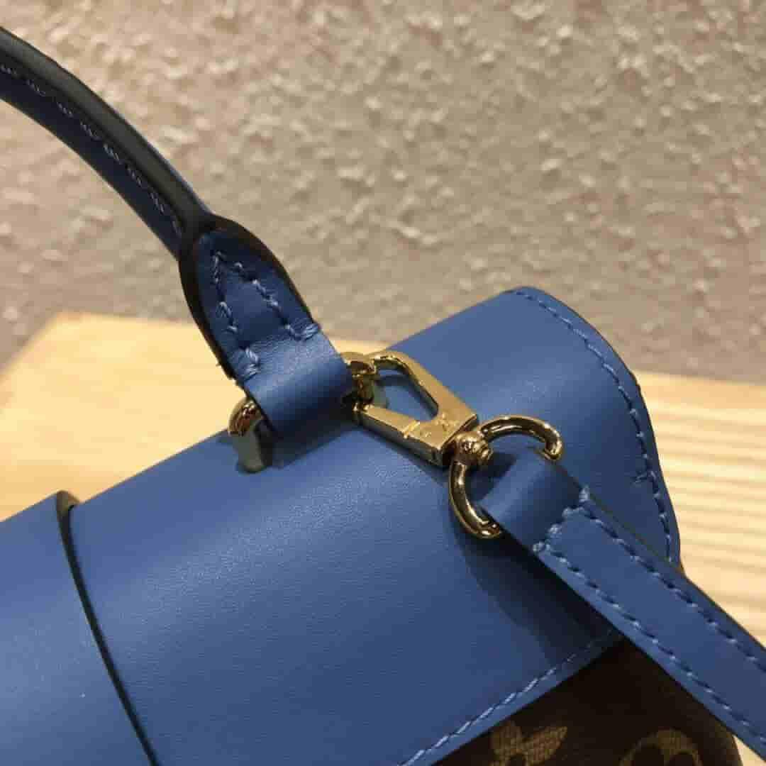 LV M44321 M44080 M44322 老花拼皮锁头邮差包