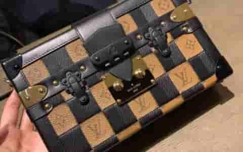 LV M53201 M53253 19新款女包 PETITE MALLE 格纹盒子包