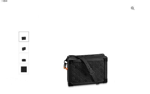 LV Soft Trunk手袋 牛皮盒子斜挎包 M53288