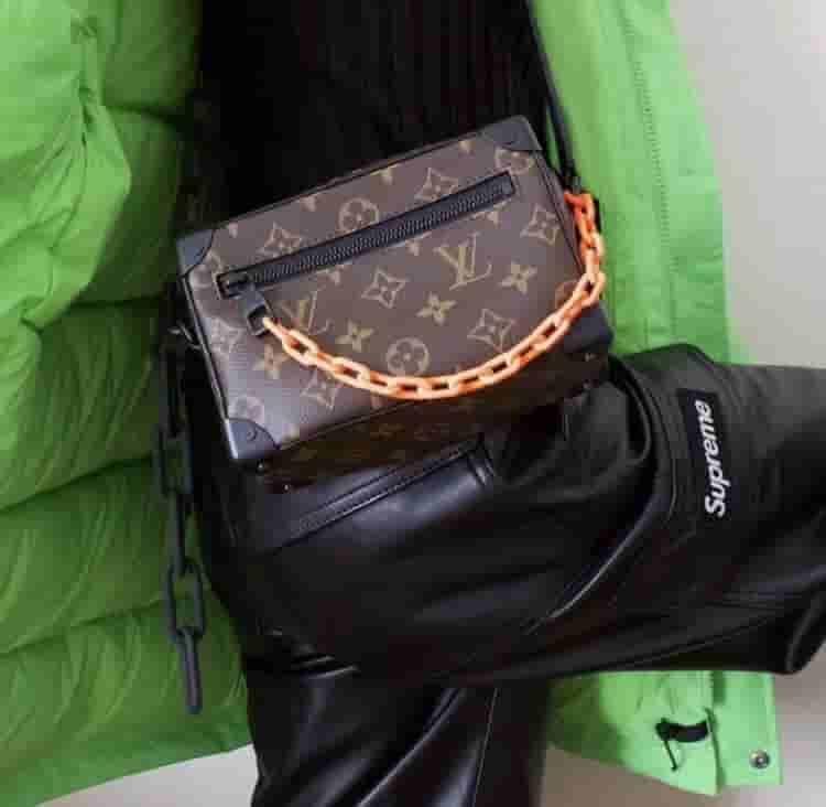 LV Mini Soft Trunk 手袋 链条软盒子挎包 M44480