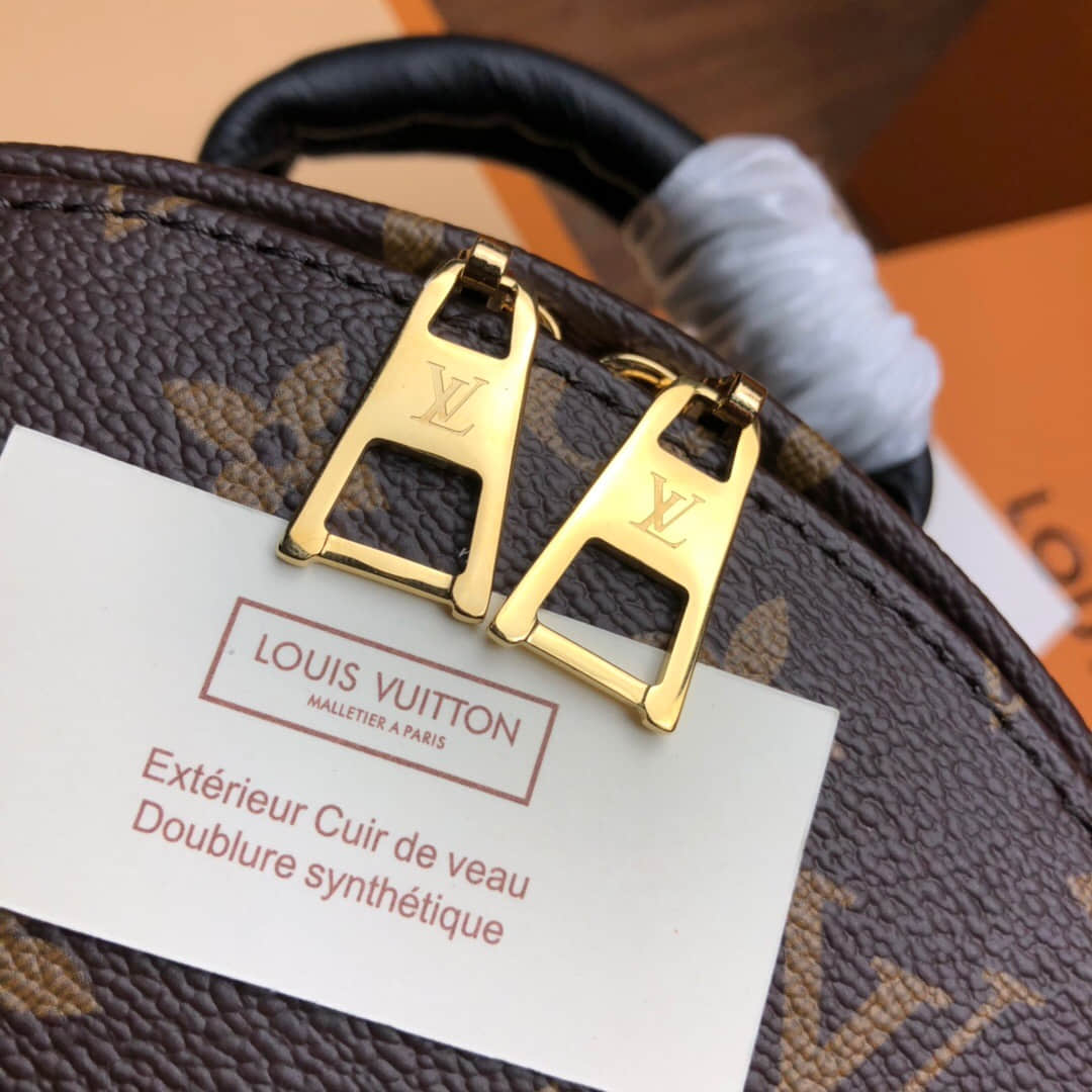 LV MONOGRAM BACKPACK 小号双肩包 M41560 上身图