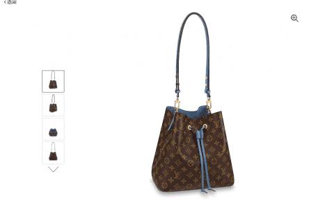 LV Neonoe手袋 19新款蓝色水桶包 M43569