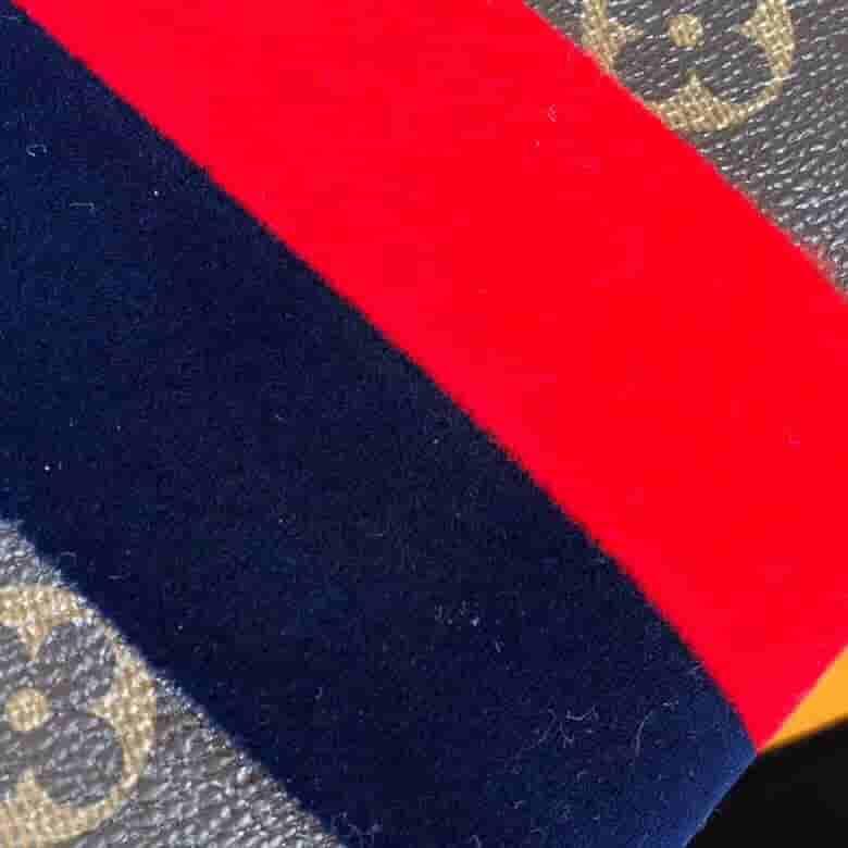 LV Georges中号手袋 双色条纹单肩斜挎手提包 M43778